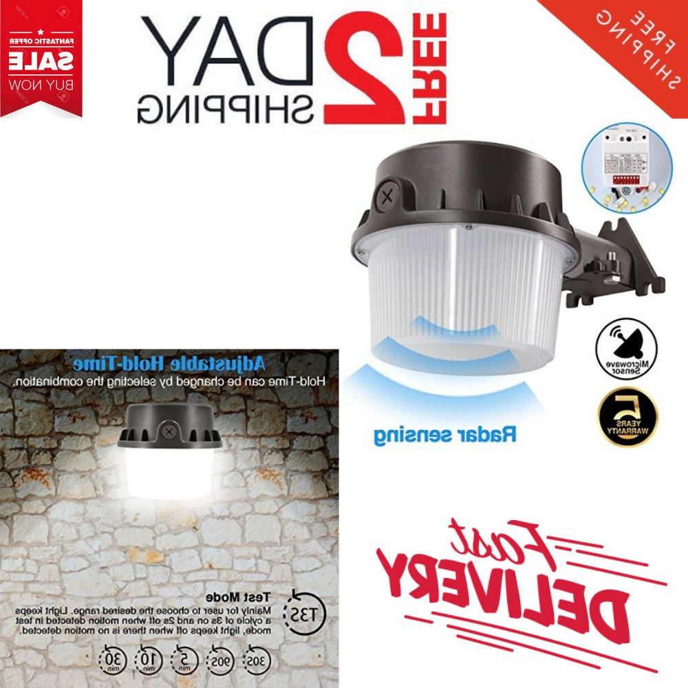 Trendy 35w Led Yard Security Light Dusk To Dawn 4200 Lumen With Gunnora Outdoor Barn Lights With Dusk To Dawn (View 17 of 20)