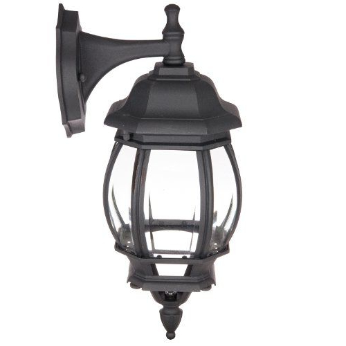 Trendy Bayou Beveled Glass Outdoor Wall Lanterns For Sunlite Odi1070 16 Inch Decorative Carriage Style Wall (View 18 of 20)