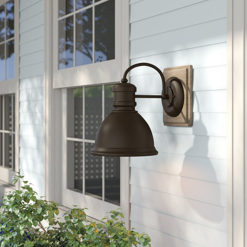 Trendy Lainey Outdoor Barn Lights For Birch Lane™ Heritage Windham Outdoor Barn Light & Reviews (View 13 of 20)