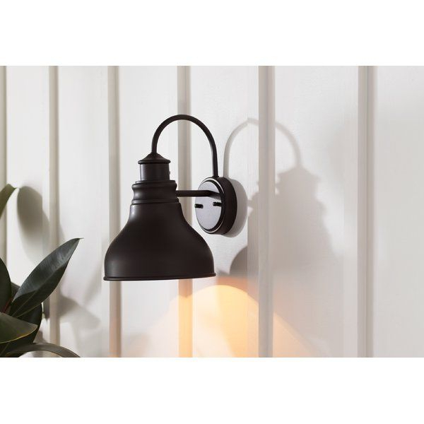 Trendy Ranbir Oil Burnished Bronze Outdoor Wall Lanterns With Dusk To Dawn For Lavardin Oil Burnished Bronze 1 – Bulb Outdoor Barn Light (View 20 of 20)