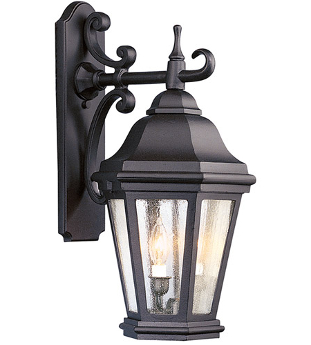 Troy Lighting Bcd6891mb Verona 2 Light 22 Inch Matte Black With Regard To Preferred Keiki Matte Black Outdoor Wall Lanterns (View 6 of 20)