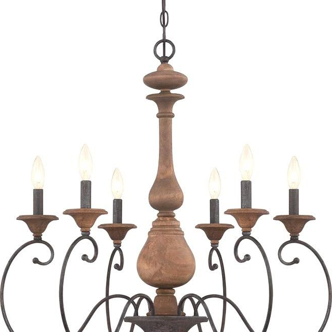 Turcot Wall Lanterns Pertaining To Preferred Turcot 6 Light Chandelier Reviews Joss Main In  (View 5 of 20)