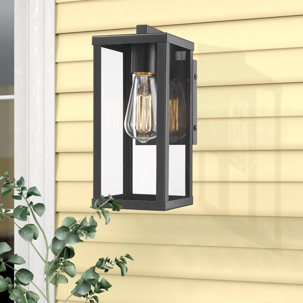 """Turcot Wall Lanterns Within Well Known 17 Stories Turcot 12"""" H Hardwired Outdoor Wall Lantern (View 4 of 20)"""