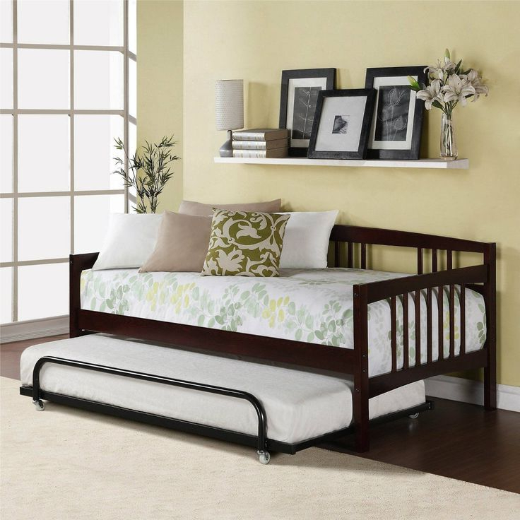 Twin Day Bed Sofa Bed Combo Guest Room Furniture Trundle In Newest Twin Nancy Sectional Sofa Beds With Storage (View 1 of 20)