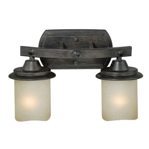 Vaxcel Lighting W0182 Halifax 2 Light Wall Sconce With Intended For Well Known Sheard Textured Black 2 – Bulb Wall Lanterns (View 10 of 20)