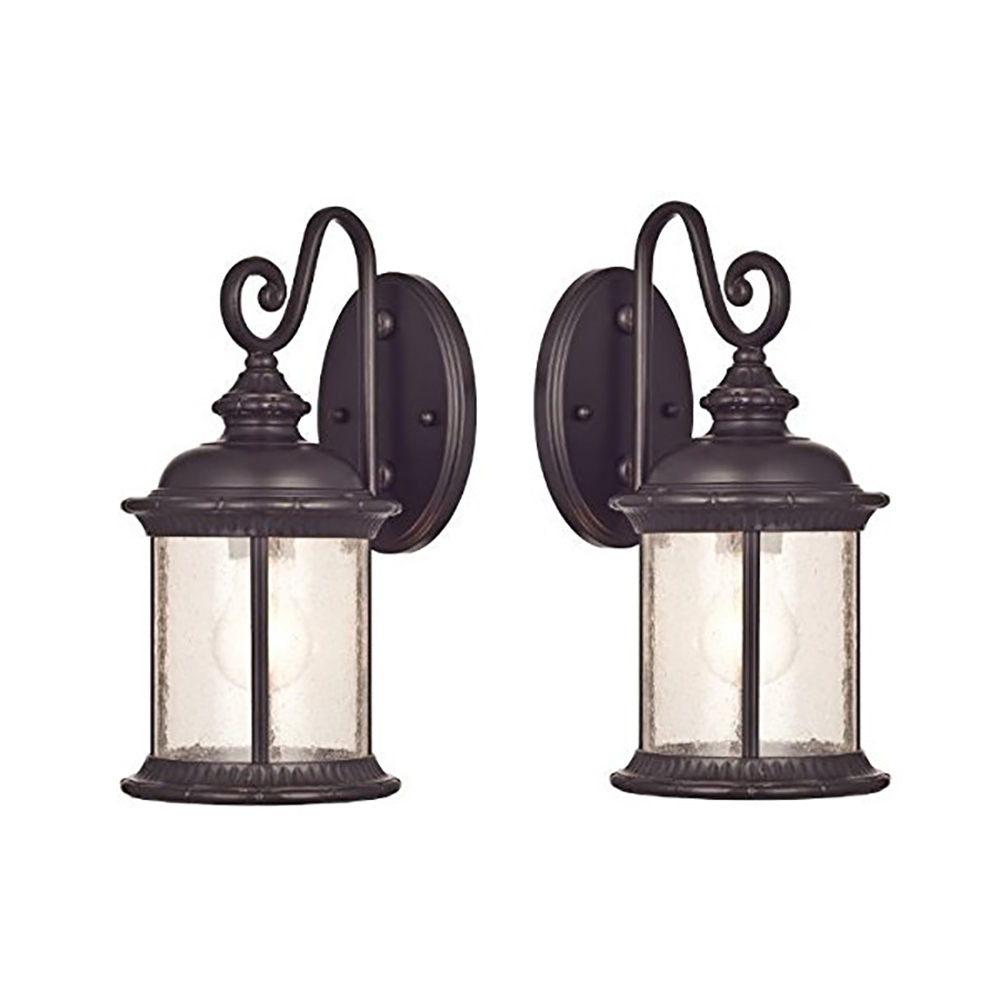 Verne Oil Rubbed Bronze Beveled Glass Outdoor Wall Lanterns Intended For Most Current Goodbulb 66972 6230600 New Haven One Light Exterior Wall (View 20 of 20)