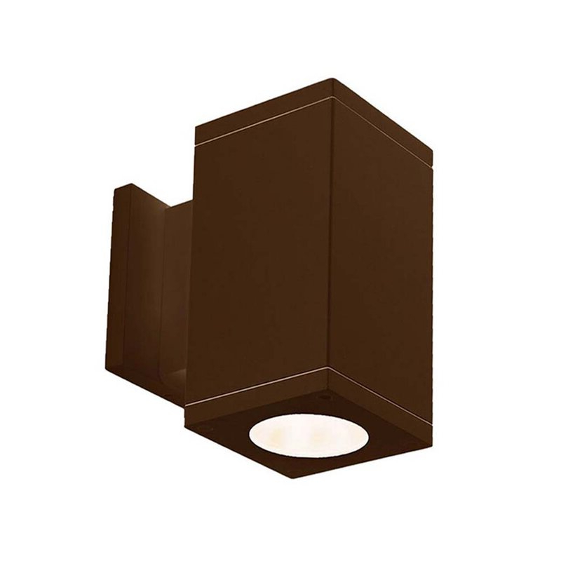 Wac Lighting Cube 1 – Bulb Outdoor Armed Sconce (View 12 of 20)