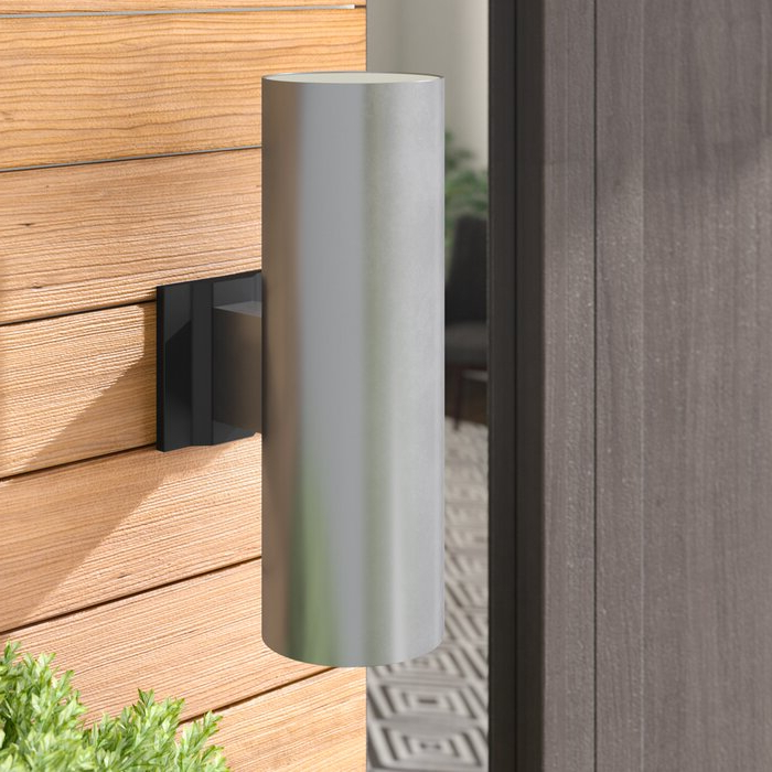 Wade Logan® Atalanta 2 Light Outdoor Armed Sconce Pertaining To Most Recently Released Dedmon Outdoor Armed Sconces (View 19 of 20)