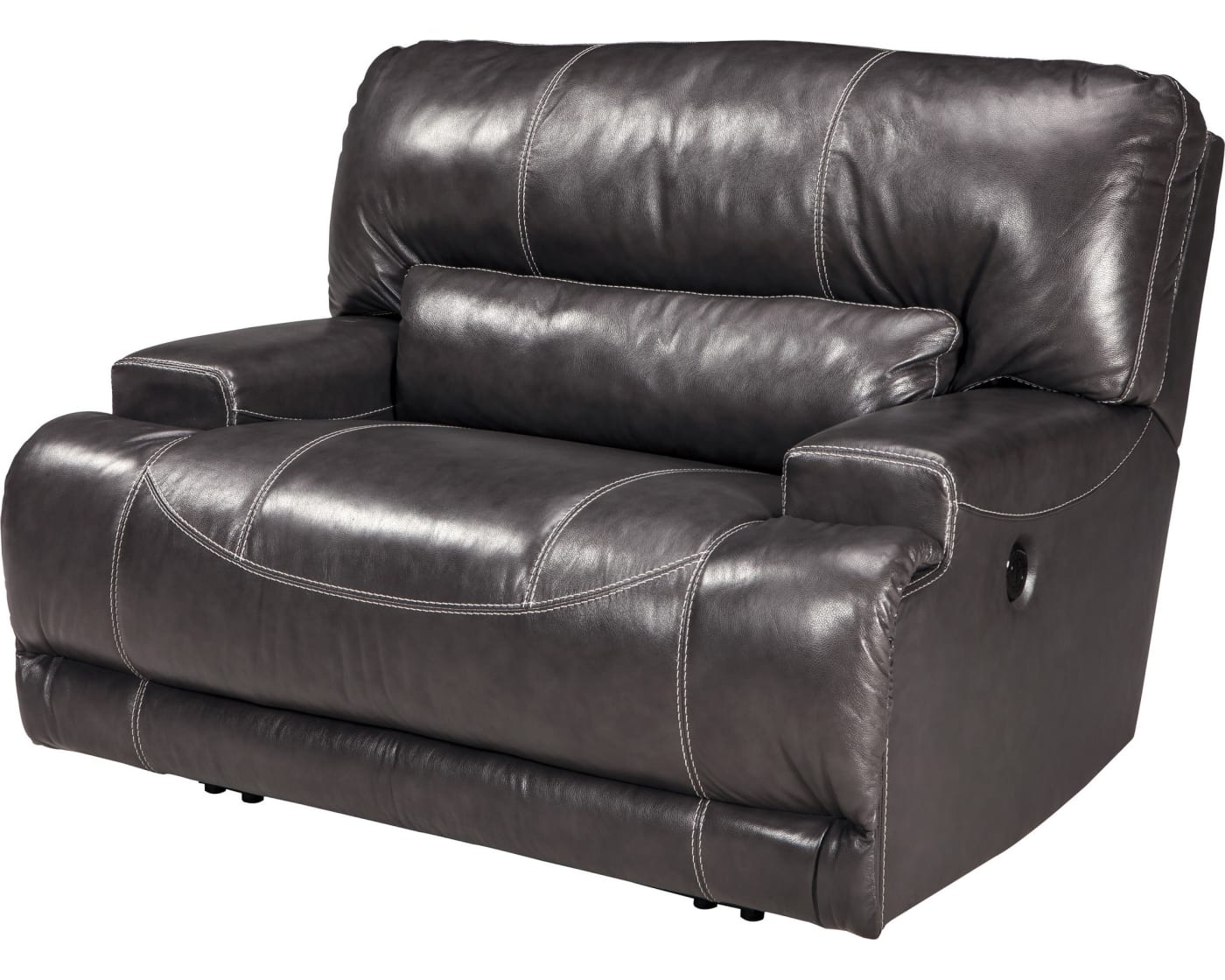 Walker Gray Power Reclining Sofas For Popular Signature Designashley Mccaskill Gray Wide Seat Power (View 2 of 20)