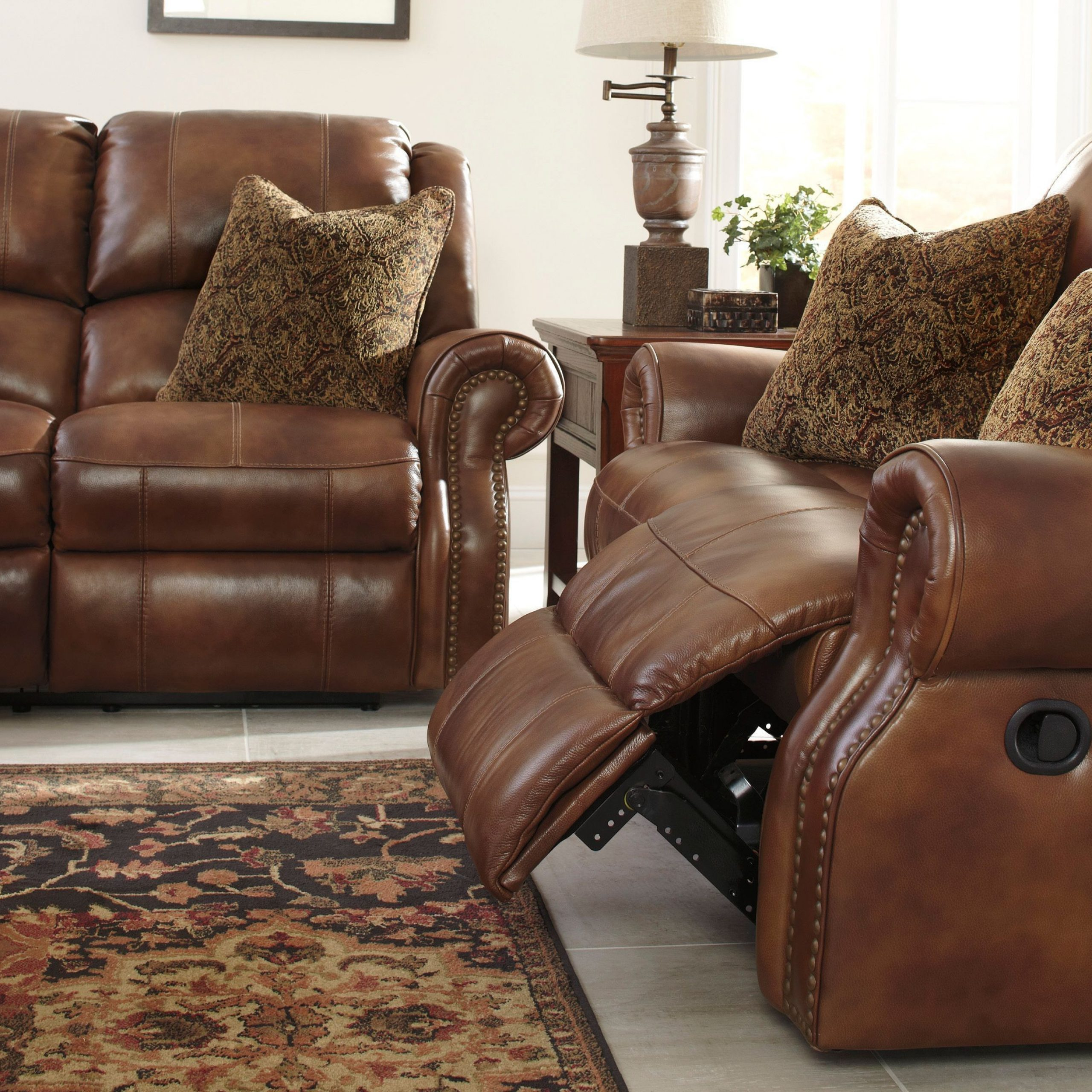 Walworth Auburn Power Reclining Sofa From Ashley (u7800187 Intended For Widely Used Power Reclining Sofas (View 7 of 20)