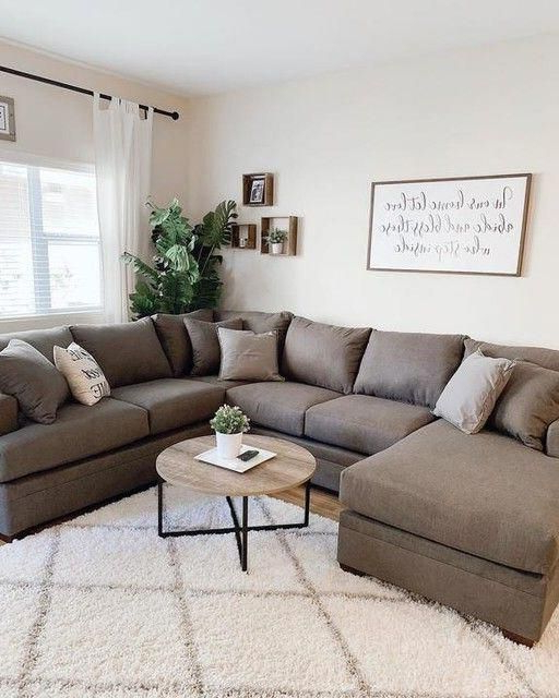 Well Known 2pc Maddox Left Arm Facing Sectional Sofas With Chaise Brown Within Kerri Charcoal 2 Piece Sectional With Left Arm Facing (View 17 of 20)