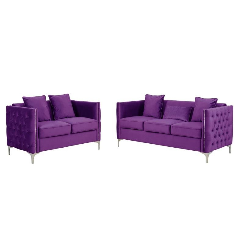 Well Known 2pc Maddox Left Arm Facing Sectional Sofas With Cuddler Brown Within Living Room Sets: Sofa Sets With Couch And Loveseat (View 4 of 19)