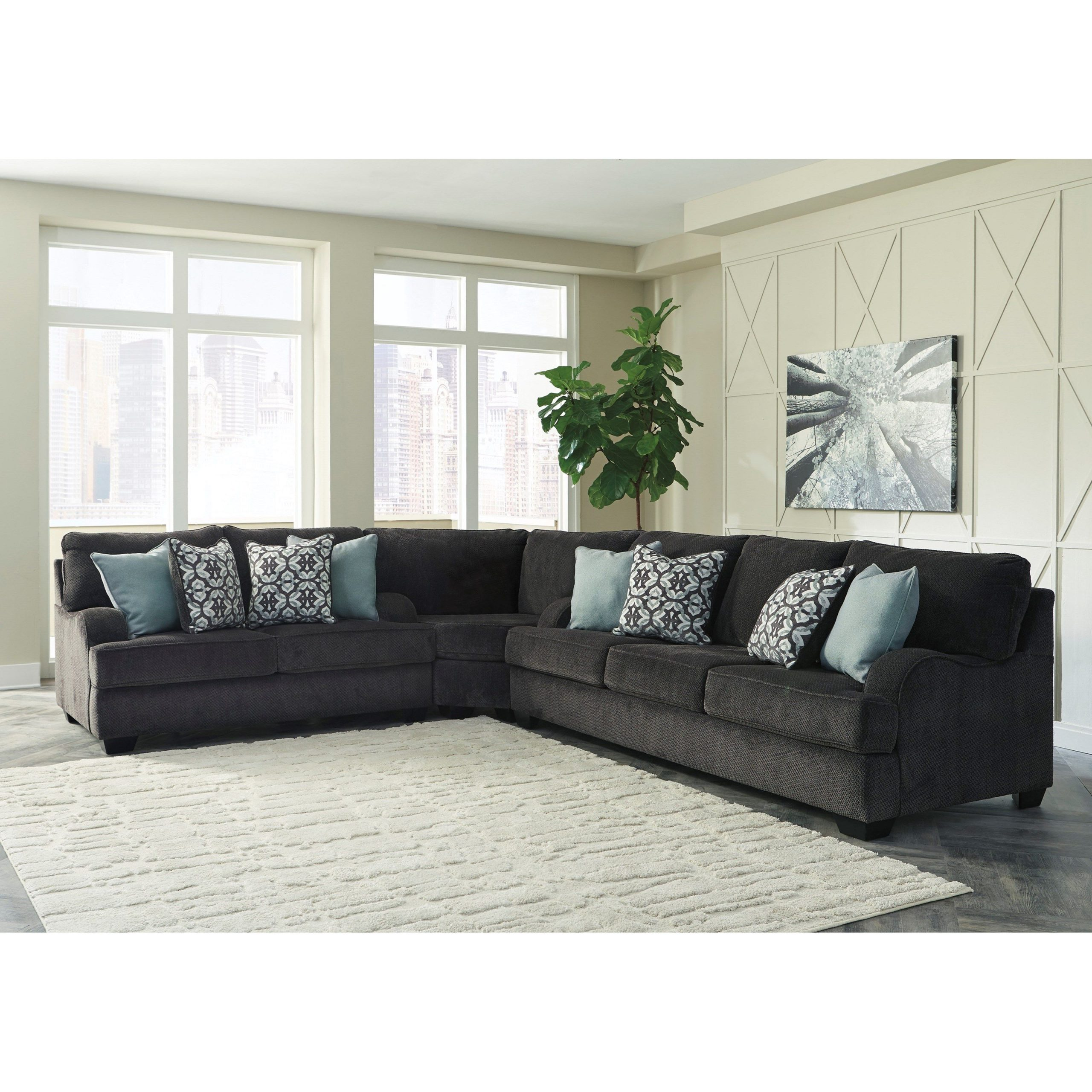 Well Known Charenton Sectional Sofa With English Armsbenchcraft Pertaining To Katie Charcoal Sofas (View 19 of 20)