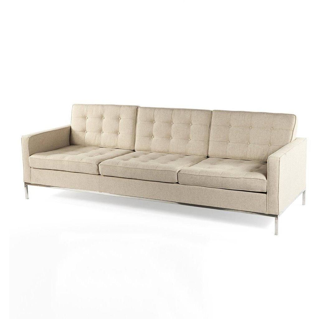 Well Known Florence Mid Century Modern Velvet Right Sectional Sofas With Regard To Mid Century Modern Reproduction Mid Century Tufted Sofa (View 14 of 20)