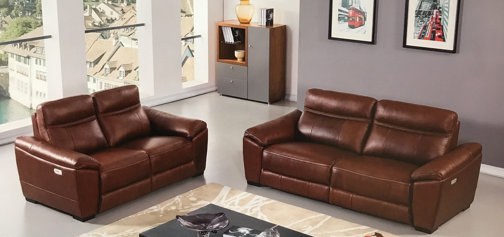 Well Known Forma Brown Full Italian Leather Power Reclining Sofa In Expedition Brown Power Reclining Sofas (View 20 of 20)