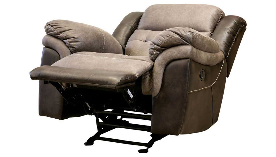 Well Known Forte Gray Power Reclining Sofas Regarding Steamboat Ii Power Recliner – Home Zone Furniture (View 19 of 20)