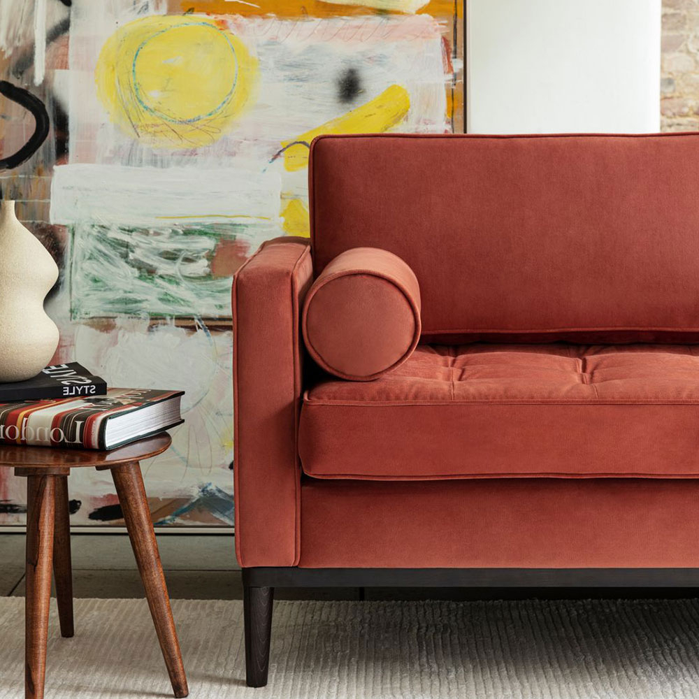 Well Known Hadley Small Space Sectional Futon Sofas Pertaining To Swyft Hadley Sofa – Glal (View 16 of 20)