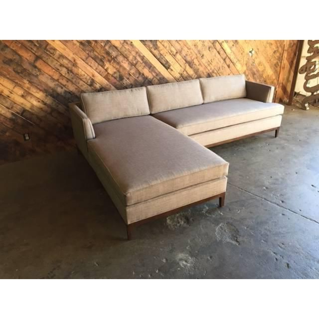 Well Known Image Of Mid Century Style Custom Reversible Sectional In Verona Mid Century Reversible Sectional Sofas (View 7 of 20)