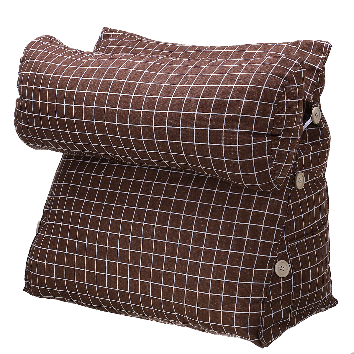 Well Known Lyvia Pillowback Sofa Sectional Sofas For Adjustable Wedge Adult Student Back Cushion Backrest (View 17 of 20)
