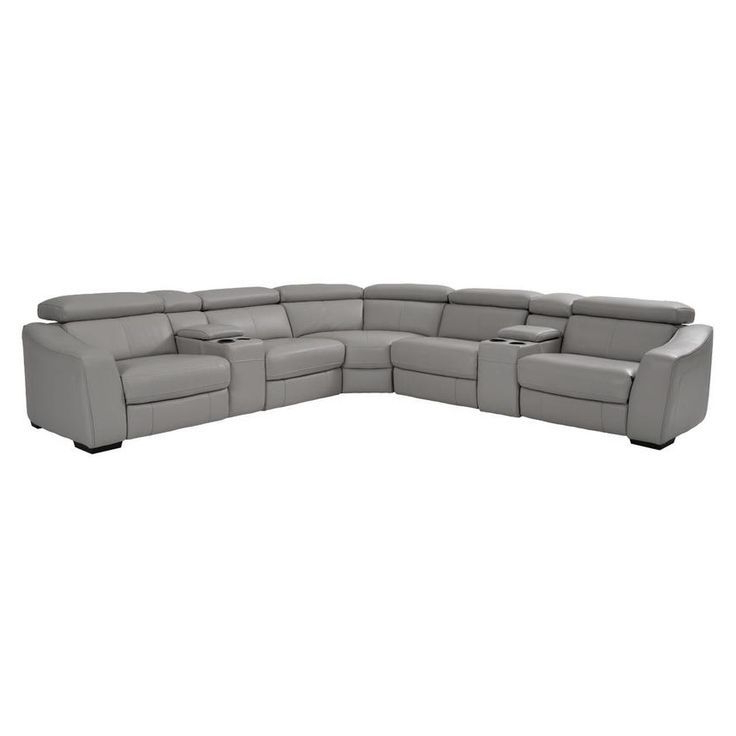 Well Known Pacifica Gray Power Reclining Sofas For James Gray Power Motion Leather Sofa W/right & Left (View 18 of 20)