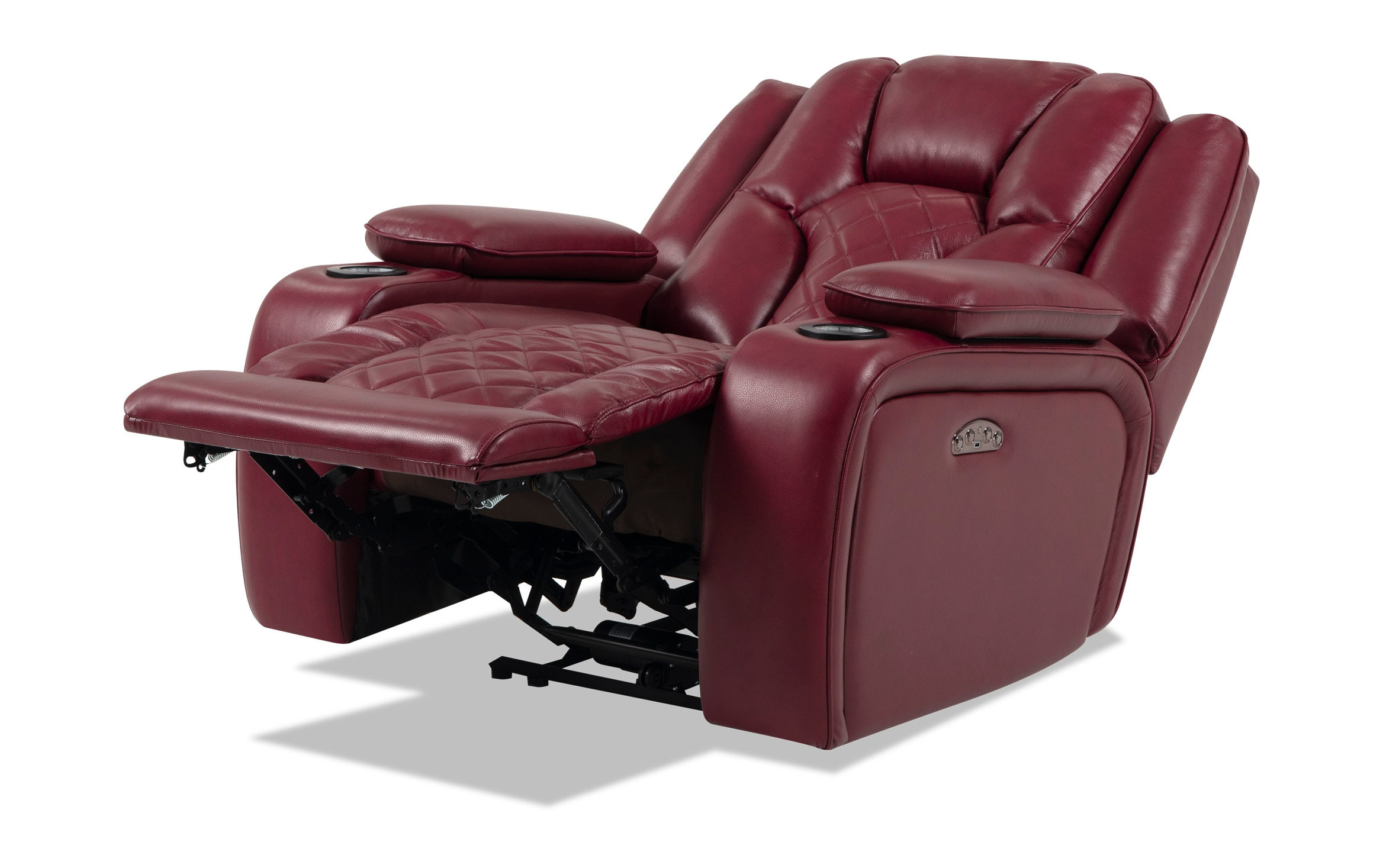 Well Known Panther Fire Leather Dual Power Reclining Sofa – Latest Within Panther Fire Leather Dual Power Reclining Sofas (View 1 of 20)