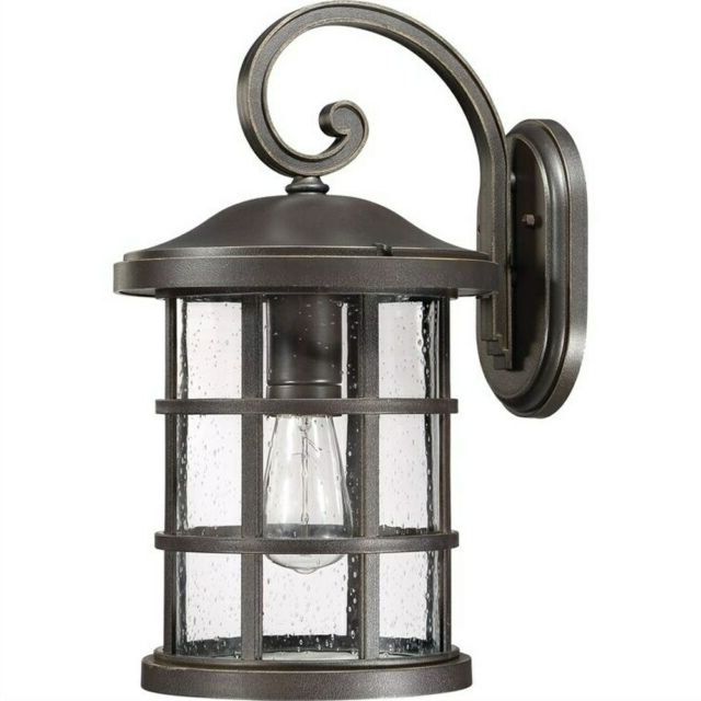 Well Known Quoizel Cse8410ek Crusade 1 Light 18 Inch Earth Black Within Ainsworth Earth Black Outdoor Wall Lanterns (View 8 of 20)