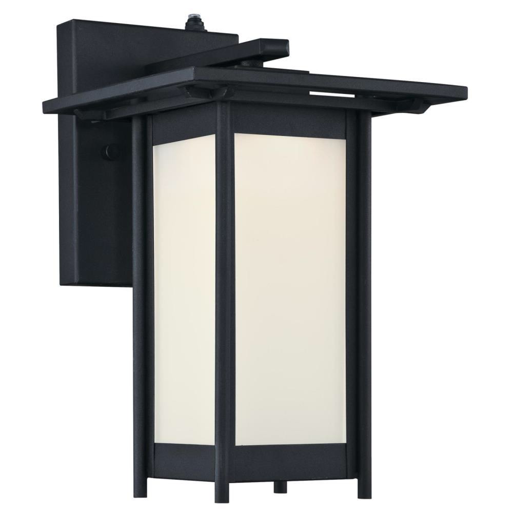 Well Known Vernie Black Integrated Led Outdoor Bulkhead Lights For Westinghouse Clarissa Led 1 Light Textured Black Outdoor (View 4 of 20)