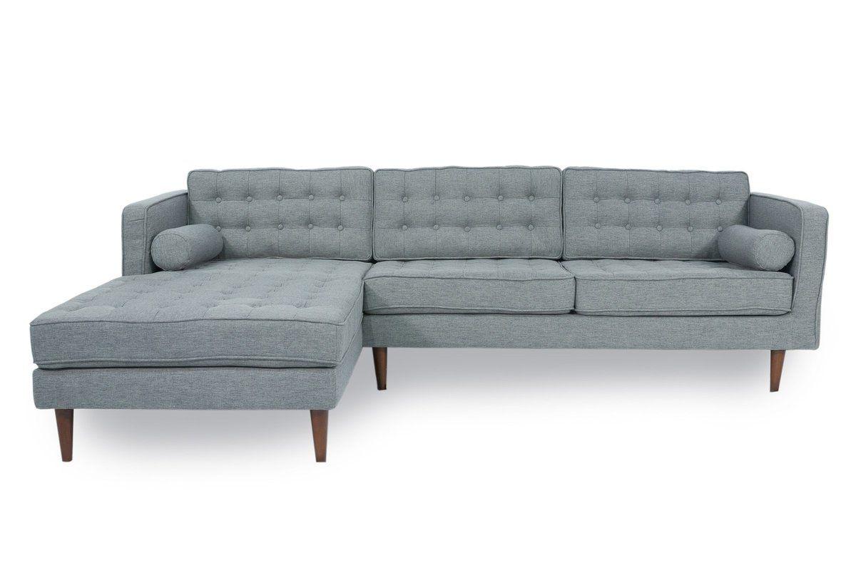 "Well Known Verona Mid Century Reversible Sectional Sofas With Cayton 106"" Reversible Sectional (View 6 of 20)"