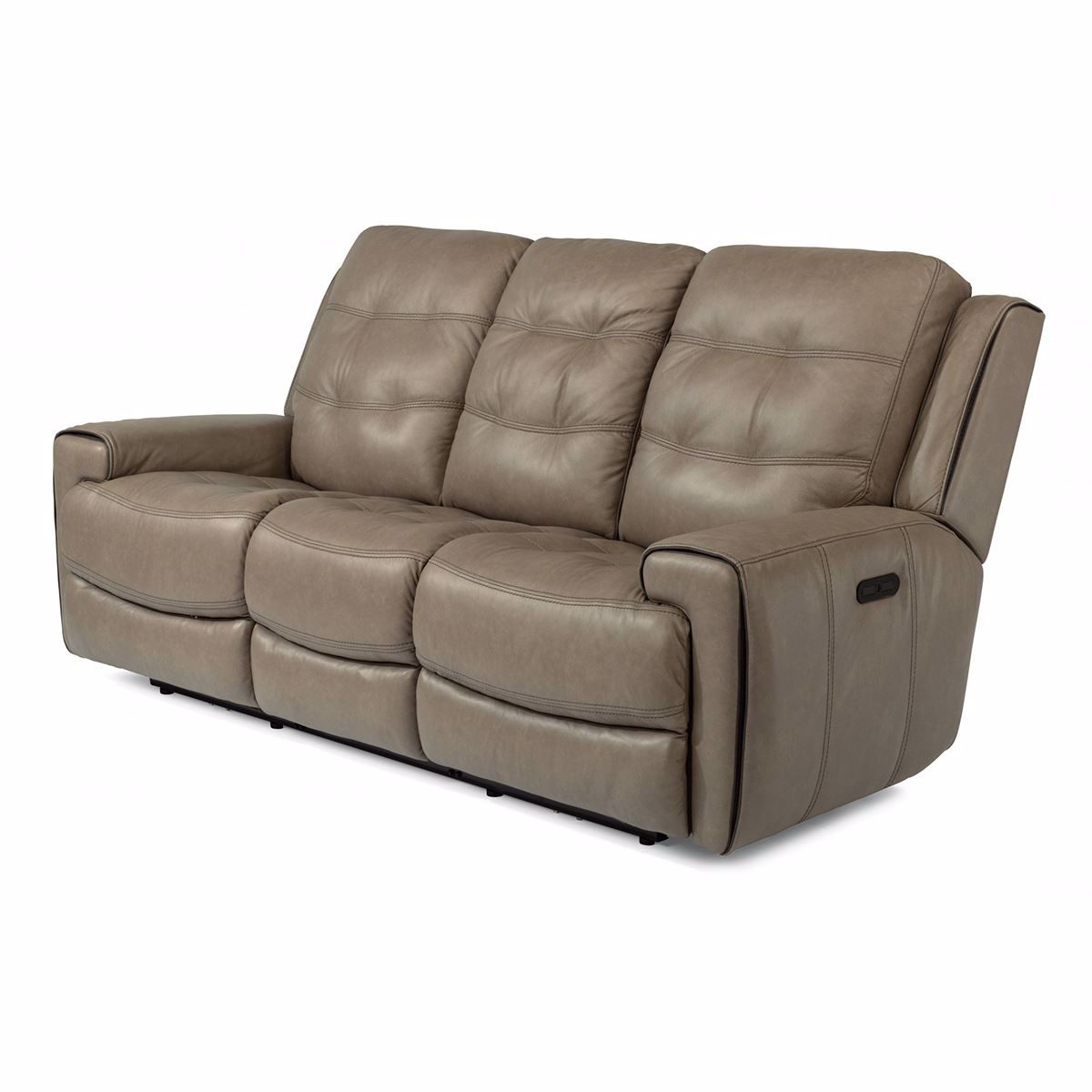 Well Known Wicklow Power Reclining Leather Sofa With Power Headrest Throughout Charleston Power Reclining Sofas (View 2 of 20)