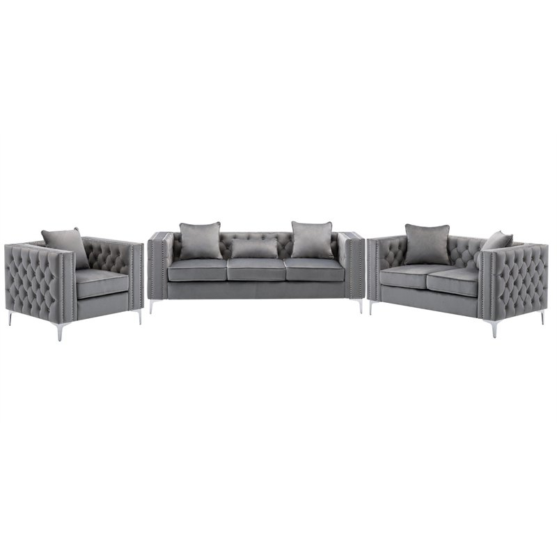 Well Liked 2pc Maddox Left Arm Facing Sectional Sofas With Cuddler Brown For Living Room Sets: Sofa Sets With Couch And Loveseat (View 1 of 19)