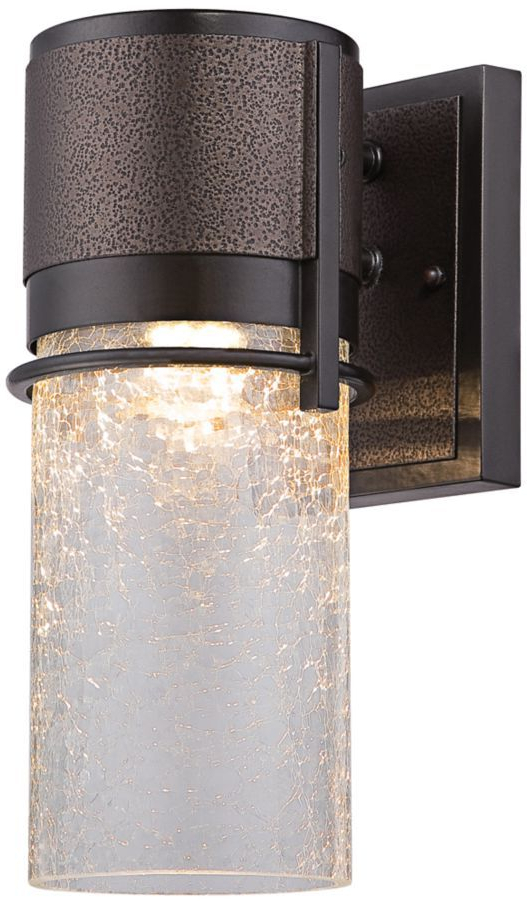 """Well Liked Chicopee 2 – Bulb Glass Outdoor Wall Lanterns For Baylor 16 1/2""""h Two Tone Bronze Led Outdoor Wall Lantern (View 19 of 20)"""