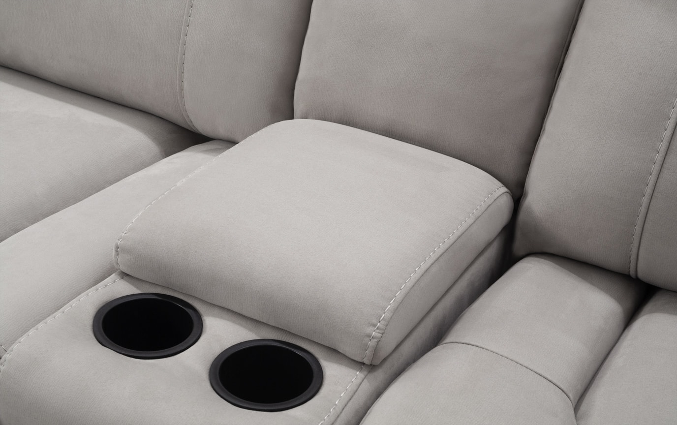 Well Liked Contempo Power Reclining Sofas With Regard To Contempo 6 Piece Power Reclining Left Arm Facing Sectional (View 19 of 20)
