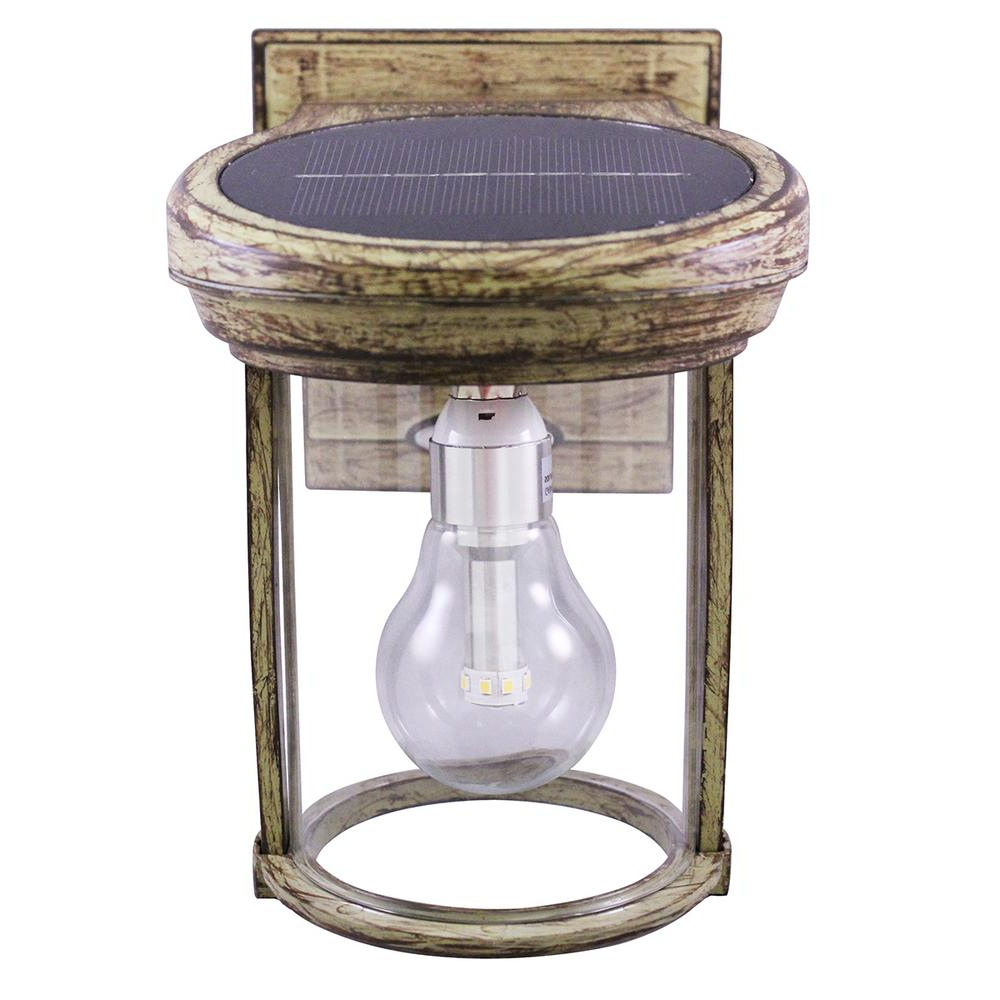 Well Liked Gama Sonic Solar Coach 1 Light Weathered Bronze Outdoor Intended For Powell Outdoor Wall Lanterns (View 18 of 20)