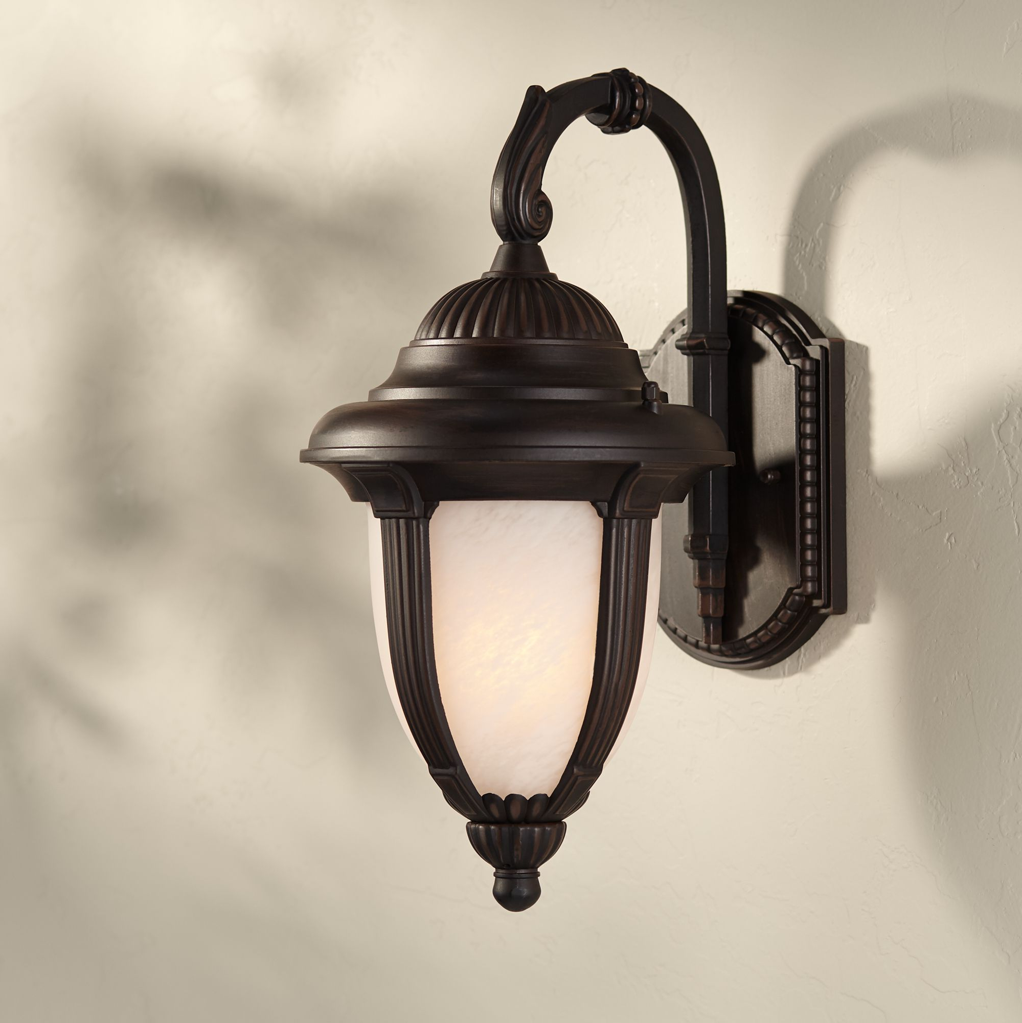 Well Liked John Timberland Traditional Outdoor Wall Light Fixture With Carrington Beveled Glass Outdoor Wall Lanterns (View 1 of 20)
