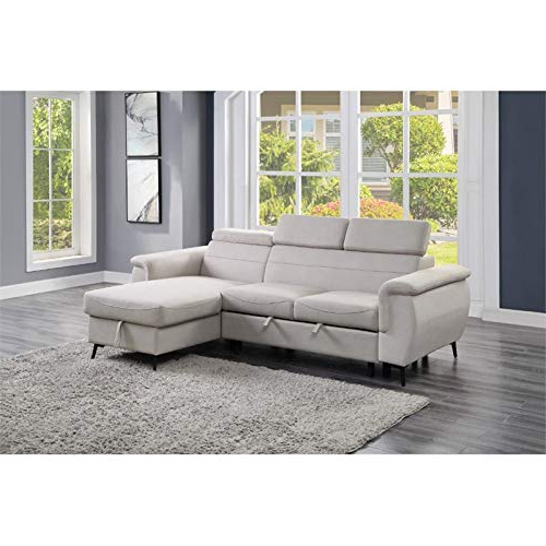Well Liked Lexicon Cadence Microfiber Reversible Sectional Sofa In Inside Harmon Roll Arm Sectional Sofas (View 11 of 20)