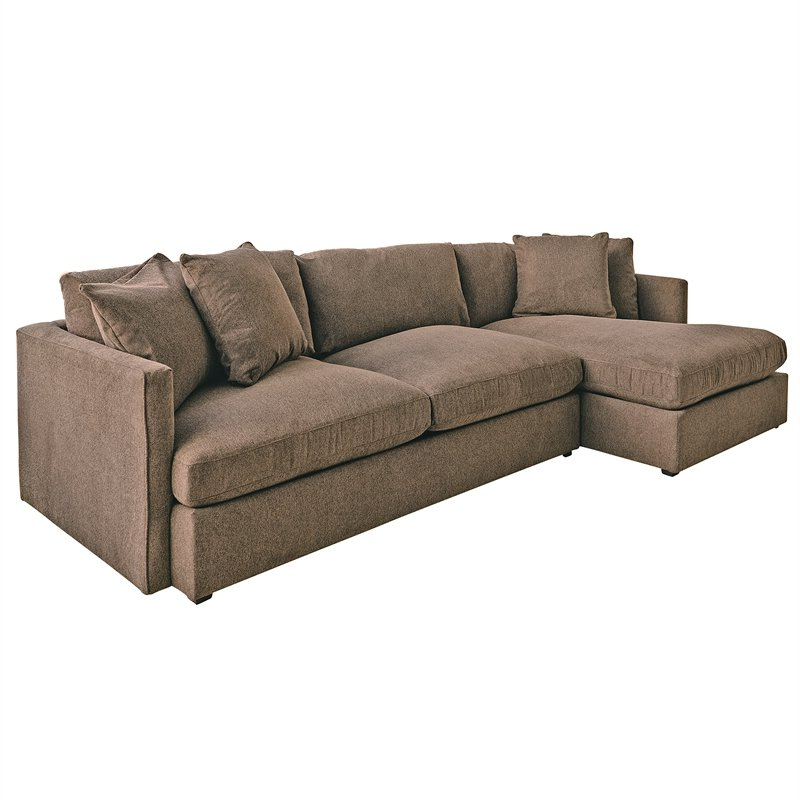 Well Liked Living Room Sets: Sofa Sets With Couch And Loveseat With Regard To 2pc Maddox Right Arm Facing Sectional Sofas With Cuddler Brown (View 5 of 17)