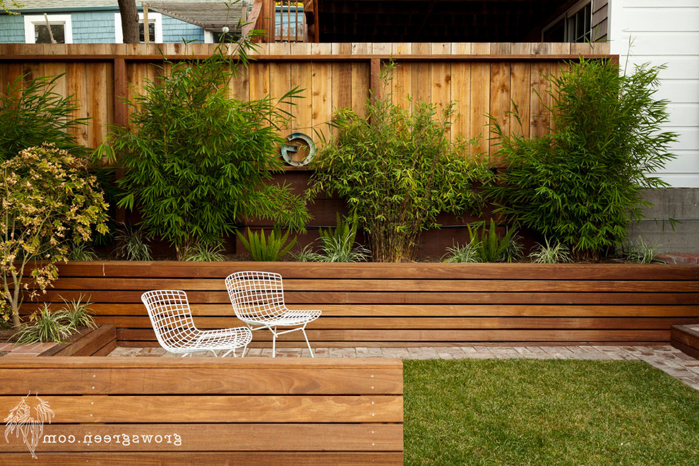 Well Liked Oneal Outdoor Barn Lights Inside Rhode Island Garden – Contemporary – Patio – San Francisco (View 9 of 20)