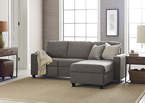 Well Liked Palisades Reclining Sectional Sofas With Left Storage Chaise For Serta Palisades Reclining Sectional With Left Storage (View 8 of 20)