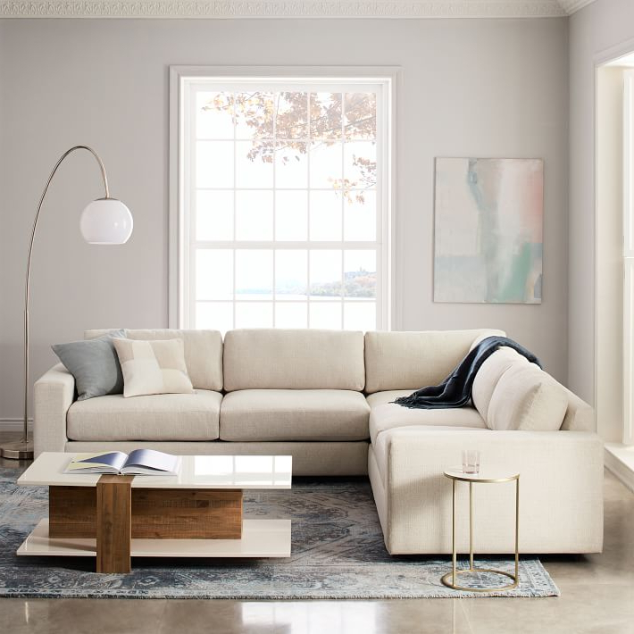West Elm With Popular Owego L Shaped Sectional Sofas (View 20 of 20)
