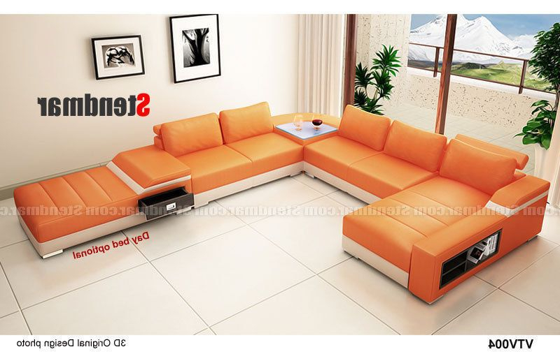 Widely Used 4 Piece Modern Leather Sectional Sofa Set S1004 (custom With 4pc Beckett Contemporary Sectional Sofas And Ottoman Sets (View 15 of 20)