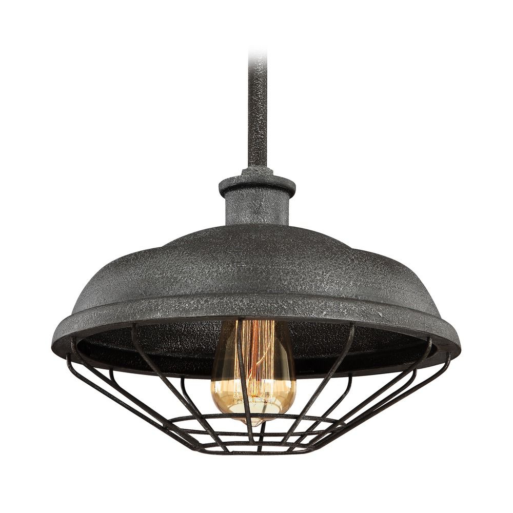 Widely Used Arryonna Outdoor Barn Lights Throughout Farmhouse Barn Light Outdoor Hanging Light Grey Metal (View 15 of 20)