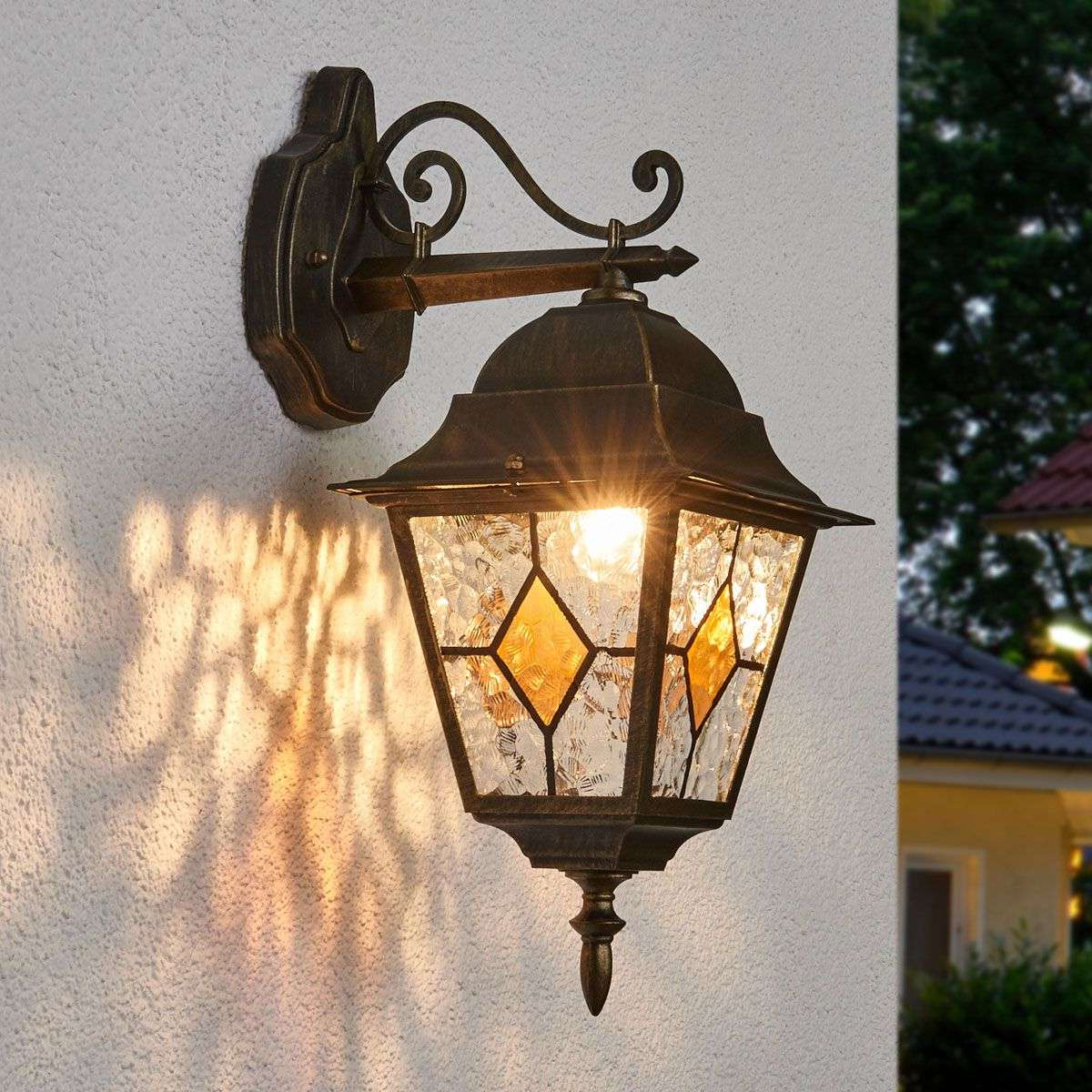 Widely Used Brookland Outdoor Wall Lanterns Intended For Jason Traditional Outdoor Wall Light (View 6 of 20)