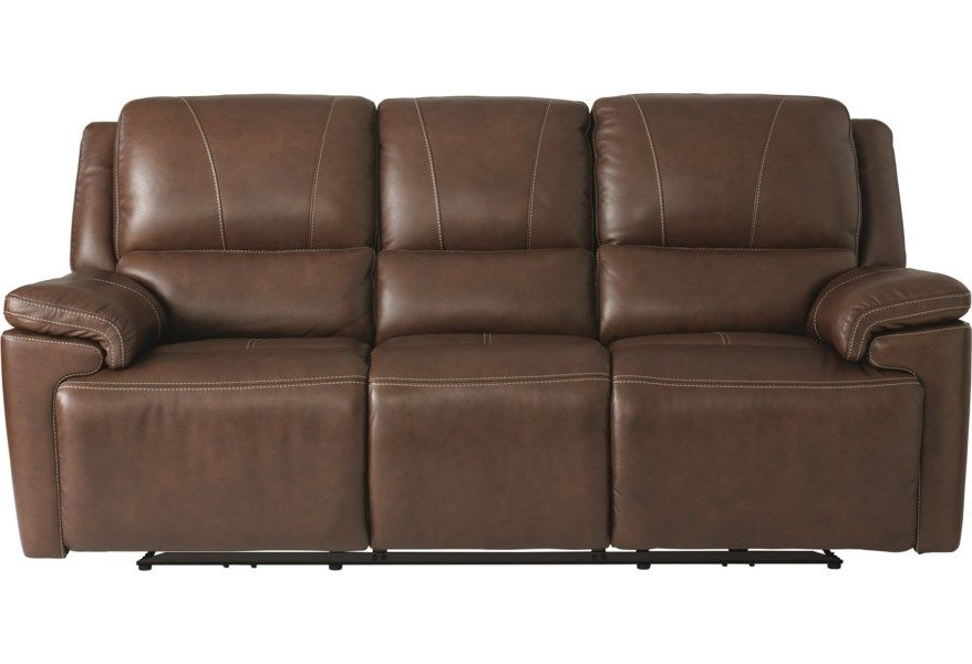 Widely Used Charleston Power Reclining Sofas In Colton Club Level Double Reclining Sofa With Power (View 6 of 20)