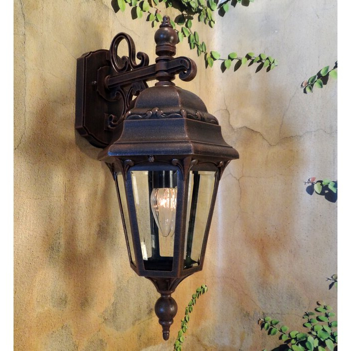Widely Used Chicopee Beveled Glass Outdoor Wall Lanterns Inside Astoria Grand Morningside Beveled Glass Outdoor Wall (View 20 of 20)