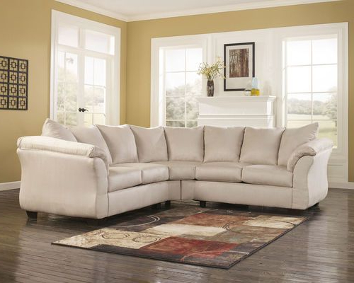 Widely Used Darcy Stone Left Arm Facing/right Arm Facing Loveseat In Dulce Right Sectional Sofas Twill Stone (View 11 of 20)