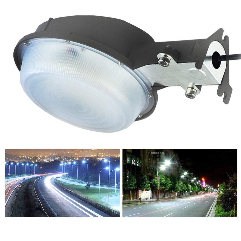 Widely Used Gunnora Outdoor Barn Lights With Dusk To Dawn Regarding Ktaxon 75w Led Barn Light Yard Street Security Light Dusk (View 10 of 20)