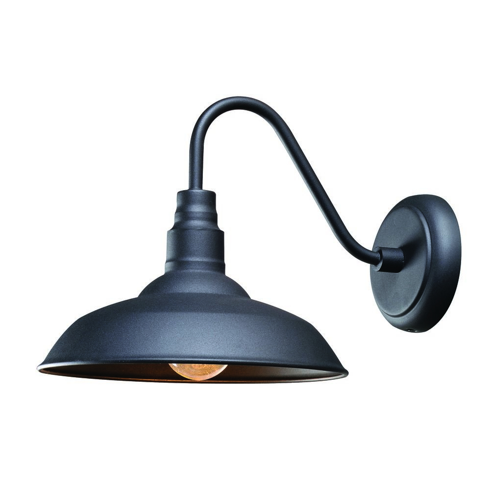 Widely Used Lainey Outdoor Barn Lights In Barn Light Outdoor Wall Black Finishkenroy Home (View 10 of 20)