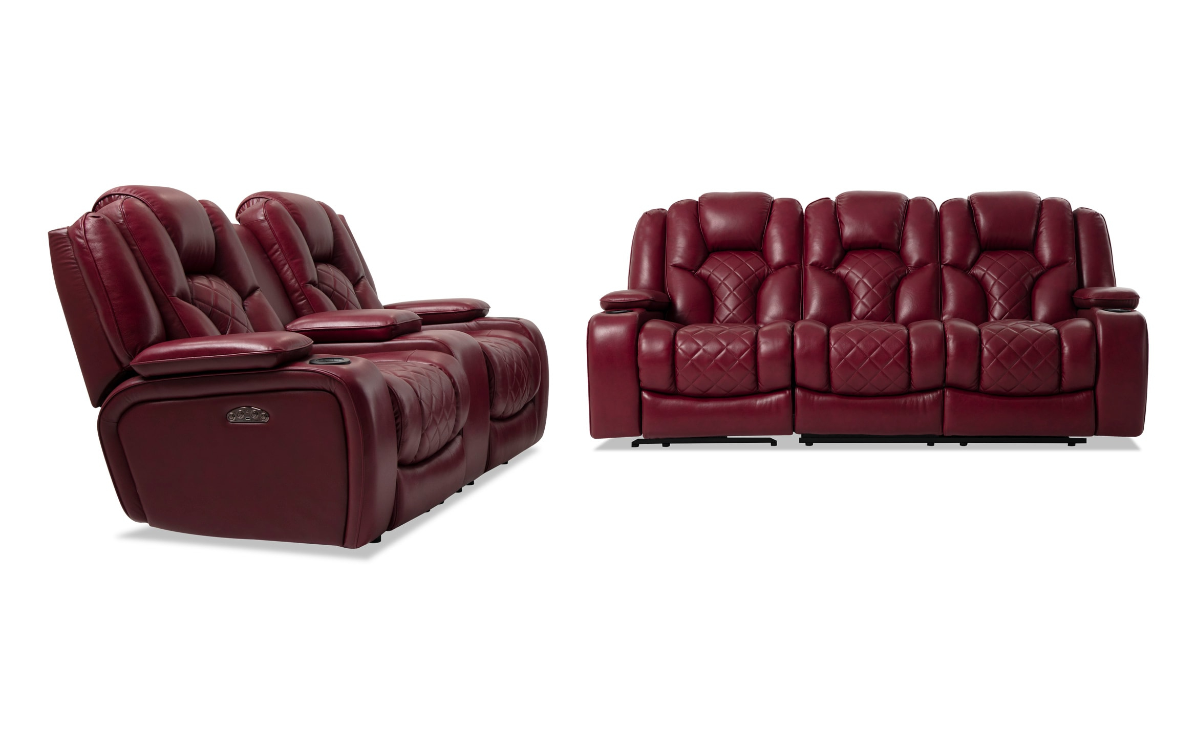 Widely Used Panther Fire Leather Dual Power Reclining Sofa – Latest Intended For Panther Fire Leather Dual Power Reclining Sofas (View 5 of 20)