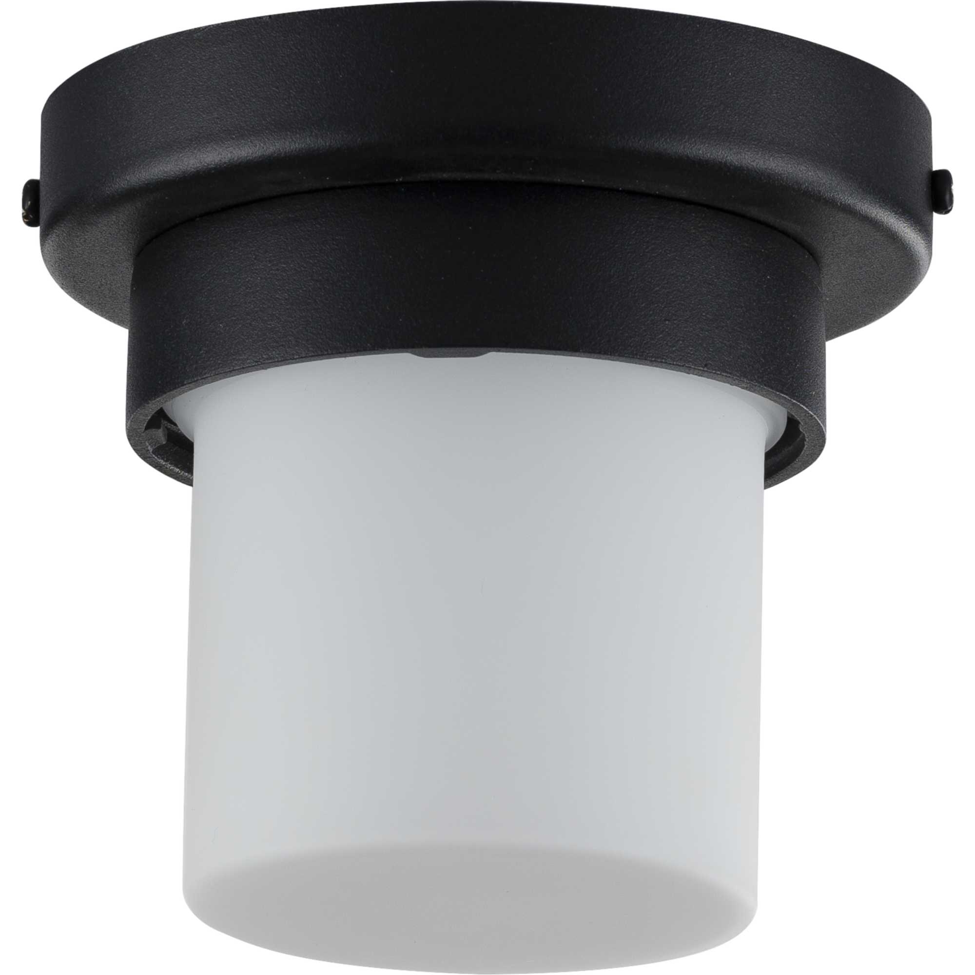 """Widely Used Whisnant Black Integrated Led Frosted Glass Outdoor Flush Mount In Progress Lighting P550071 30 5""""w Led Outdoor Flush Mount (View 8 of 20)"""