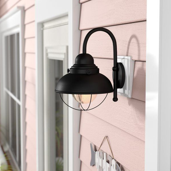 You'll Love The Corbel 1 Light 9w Outdoor Barn Light At With Regard To Fashionable Lainey Outdoor Barn Lights (View 6 of 20)